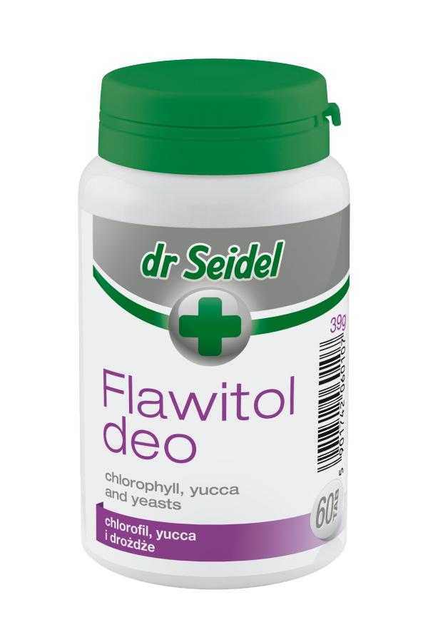 Dr Seidel Flawitol Deo Preparat z Chlorofilem i Yucca Schidigera 60 Tabletek