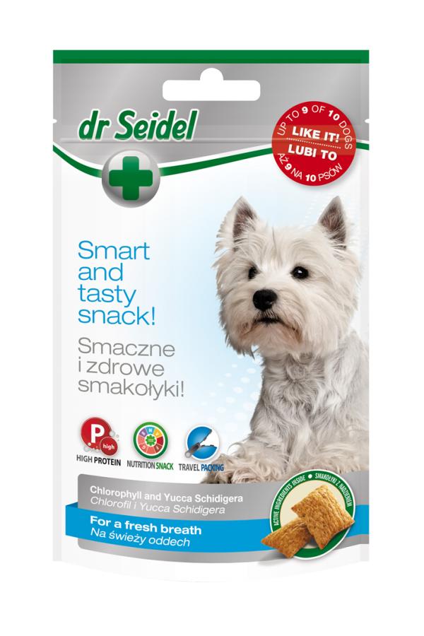 Dr Seidel Smakołyki Świeży Oddech dla Psa 90 g