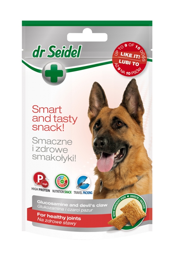 Dr Seidel Smakołyki Zdrowe Stawy dla Psa 90 g