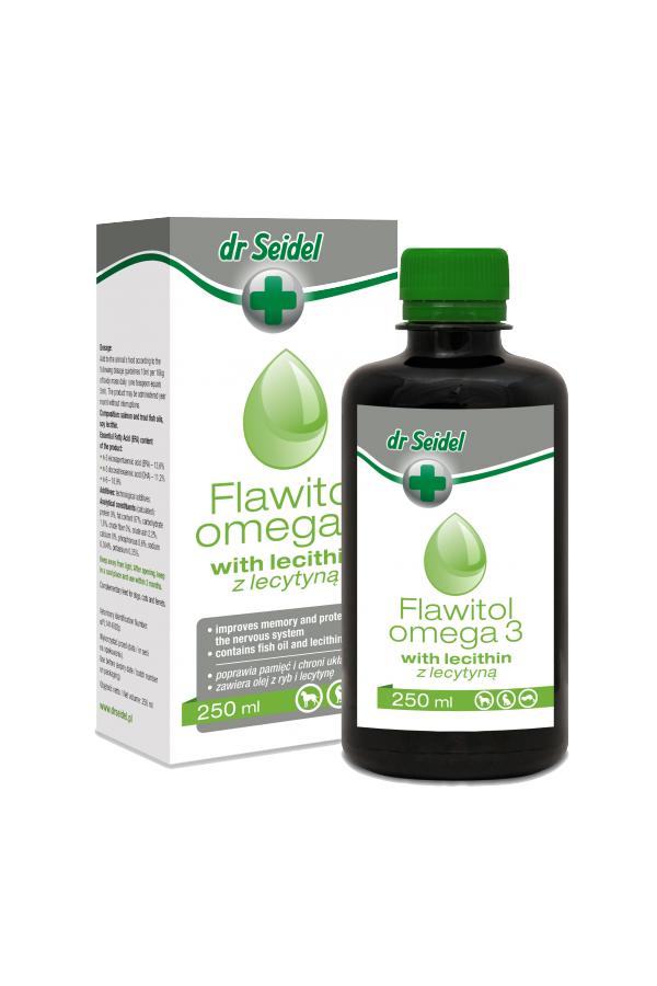 Dr Seidel Flawitol Omega 3 z Lecytyną 250 ml