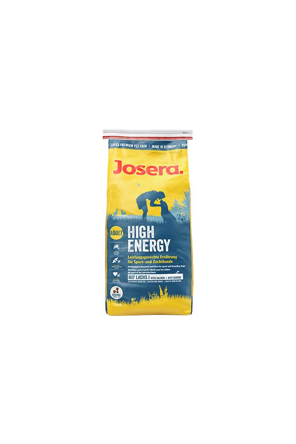 Josera High Energy Łosoś Psy Sportowe Hodowlane 15 kg
