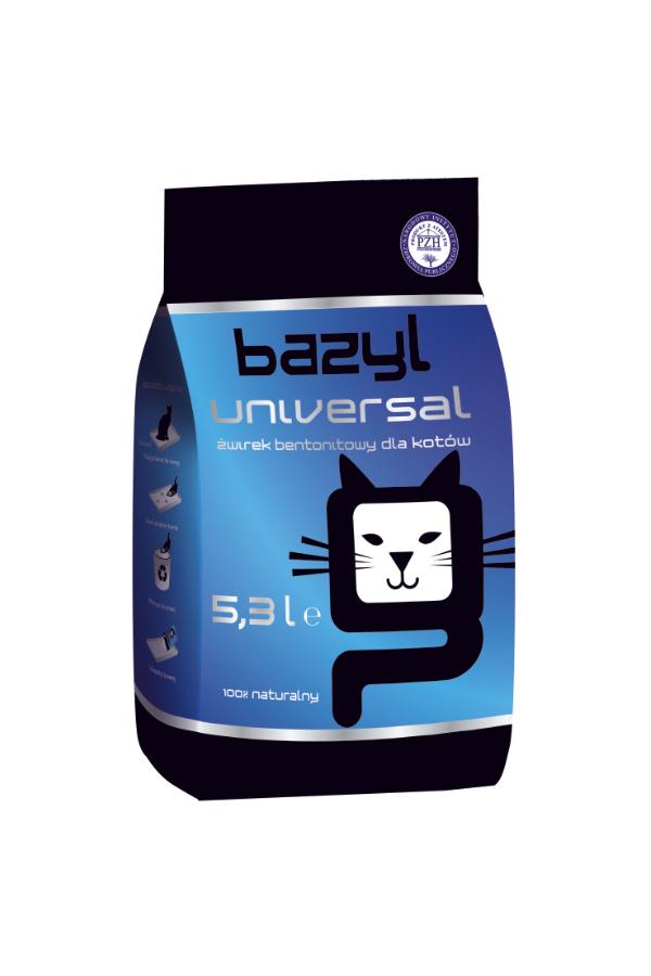 Bazyl Universal Żwirek Bentonitowy 5,3 l