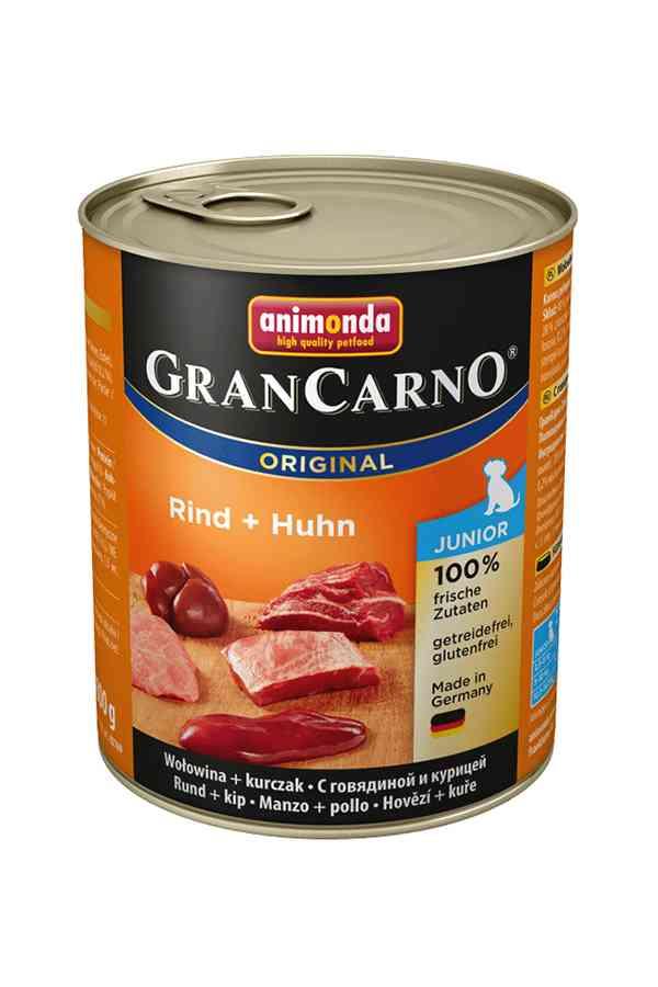 Animonda grancarno junior wołowina z kurczakiem 800 g