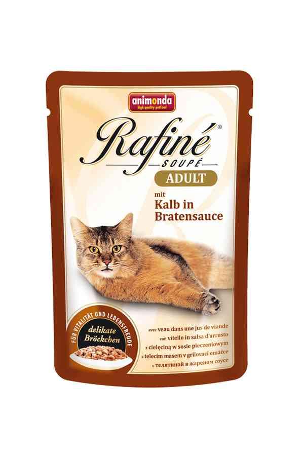 Animonda rafine soupe cielęcina w sosie 100 g