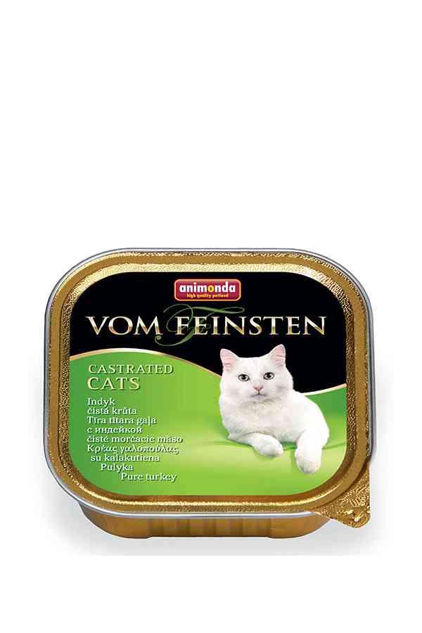 Animonda vom feinsten castrated cats indyk 100 g