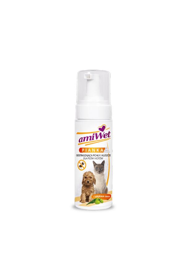 Amiwet szampon piankowy odstraszajcy 150 ml