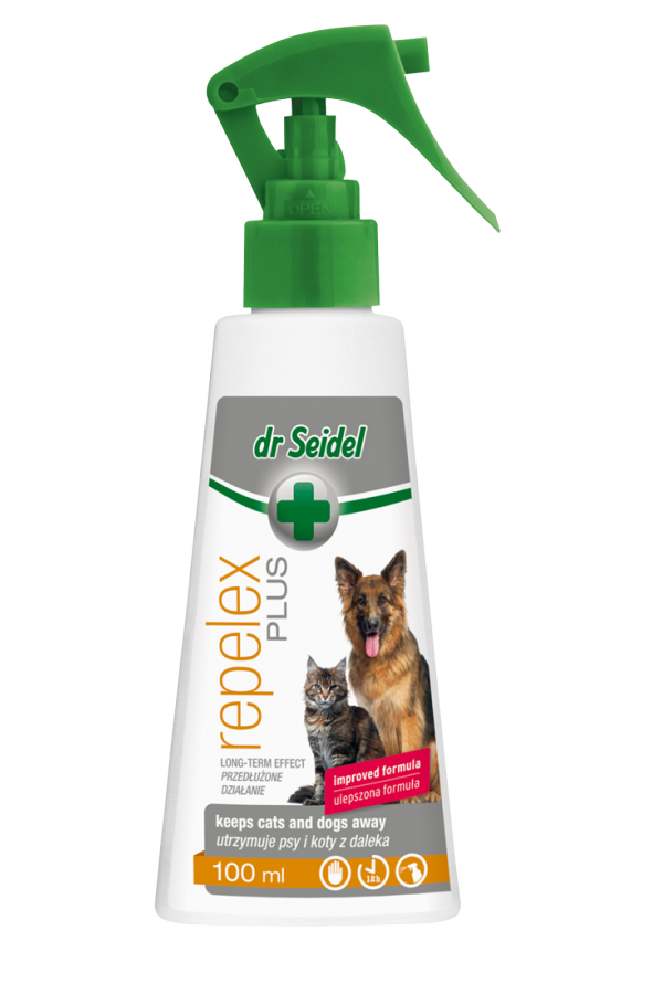 Dr Seidel Repelex Plus Odstraszający Zwierzęta Przedłużone Działanie 100 ml