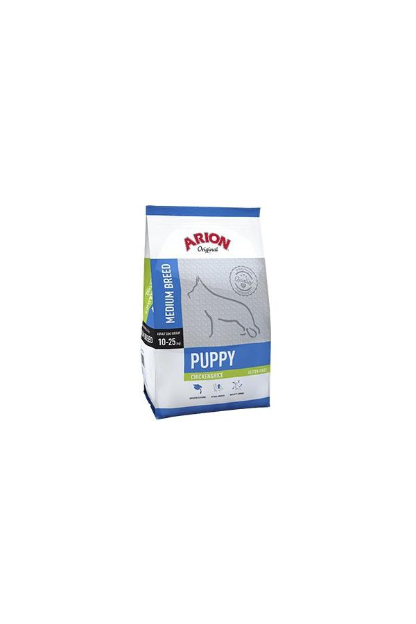 Arion original puppy medium chicken&rice 3 kg