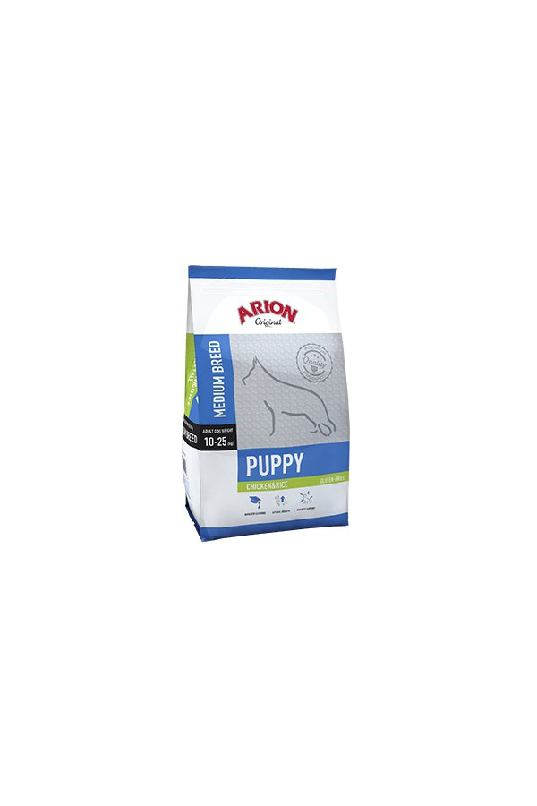 Arion original puppy medium chicken&rice 12kg