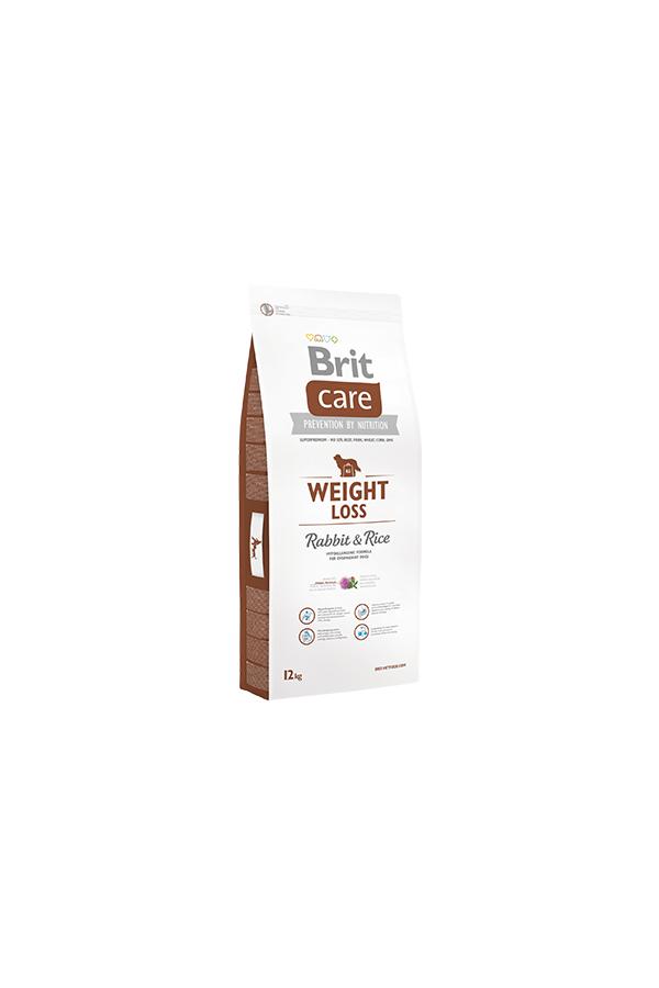 Brit Care Weight Loss Nadwaga Rabbit & Rice Królik 12 kg