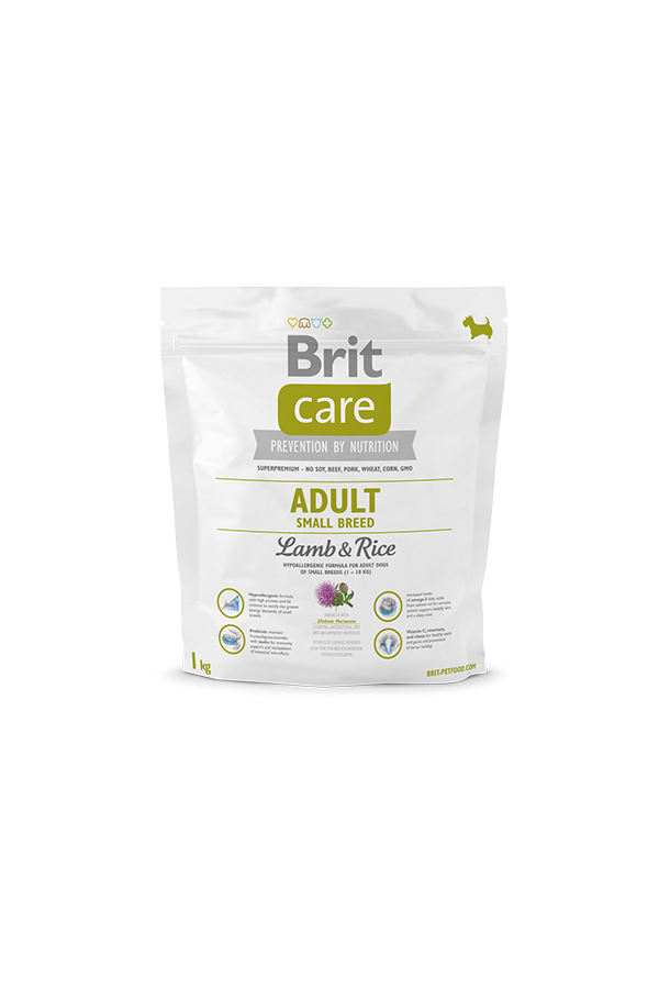 Brit Care Lamb & Rice Jagnięcina Adult Small Breed 1 kg
