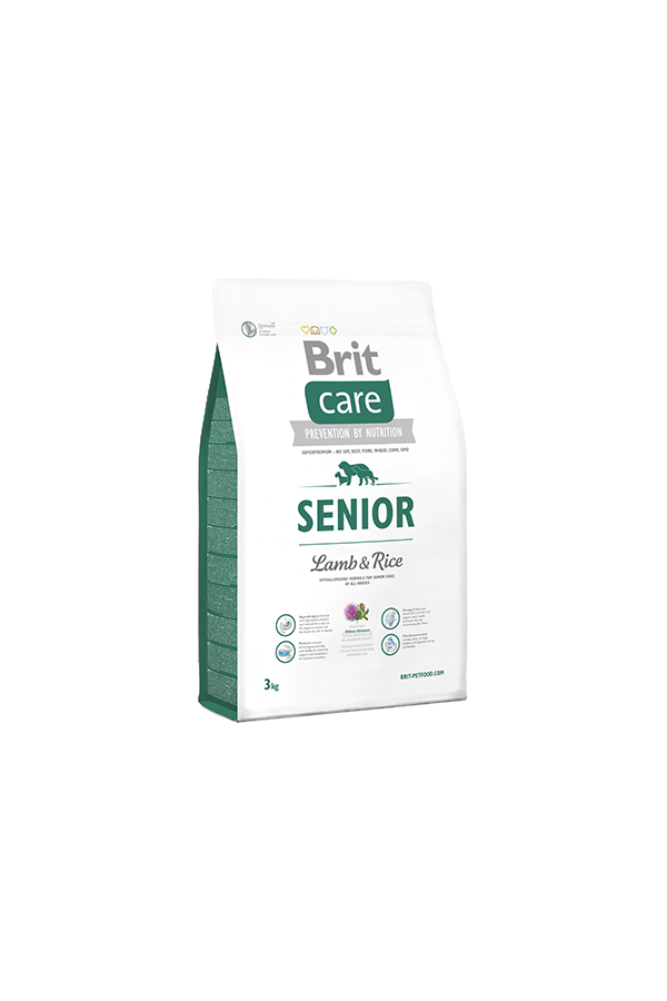 Brit Care Lamb & Rice Jagnięcina Senior 3 kg