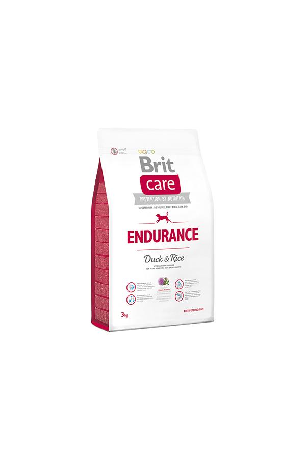 Brit Care Endurance Wytrzymałośc Duck & Rice Kaczka 3 kg