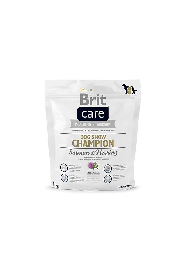 Brit Care Dog Show Champion Salmon & Herring Łosoś Śledź 1 kg