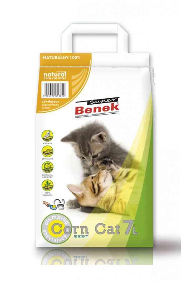 Super Benek Corn Cat Naturalny 7 l