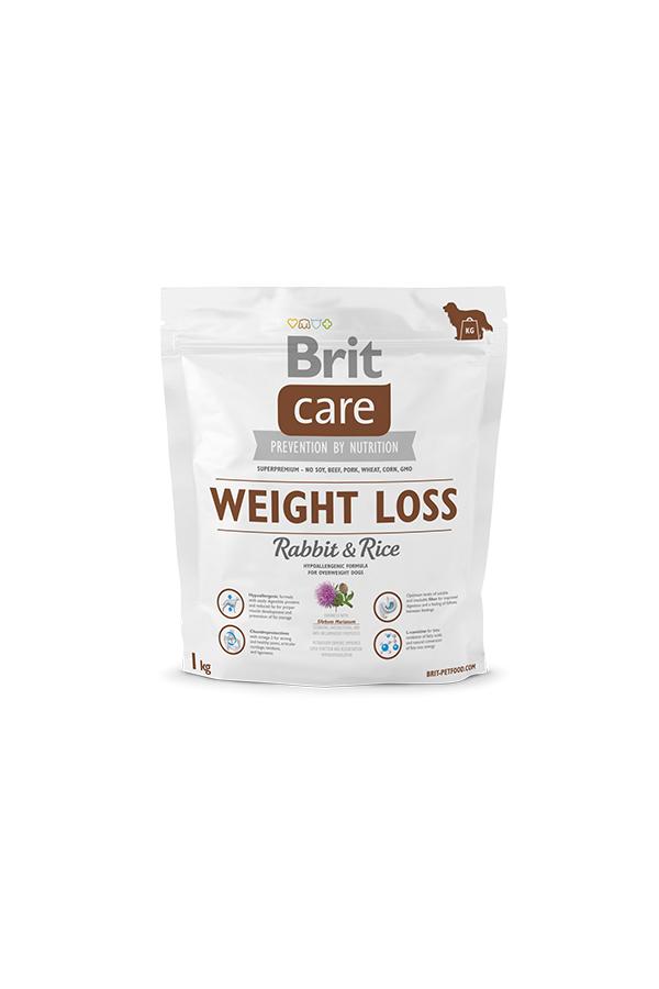Brit Care Weight Loss Nadwaga Rabbit & Rice Królik 1 kg
