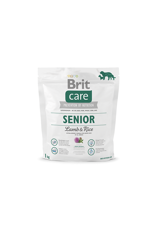 Brit Care Lamb & Rice Jagnięcina Senior 1 kg
