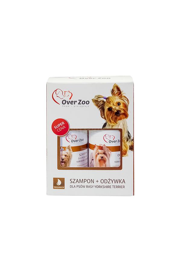Zestaw Over Zoo Yorkshite Terrier Szampon 250 ml + Odżywka 240 ml