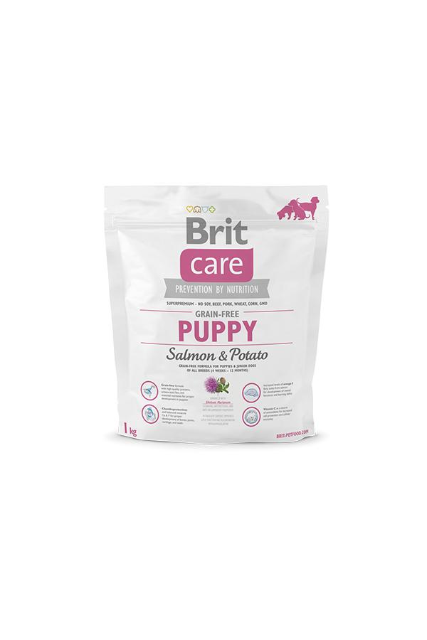 Brit Care Grain-Free Bezzbożowa Salmon & Potato Łosoś Puppy 1 kg