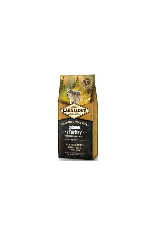 Brit carnilove large breed adult salmon & turkey 12 kg
