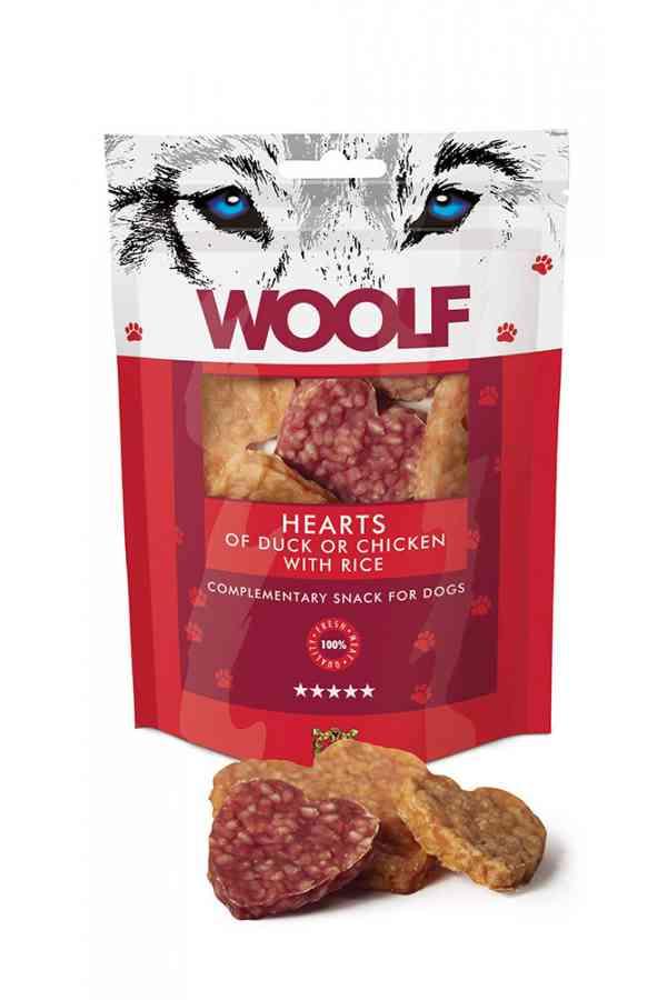 Woolf Hearts Of Duck Or Chicken With Rice Serca Kaczka Kurczak 100 g