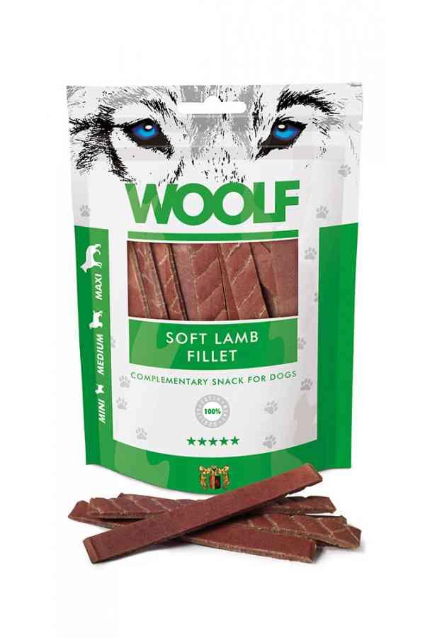 Brit Woolf Soft Lamb Fillet Jagnięcina 100 g