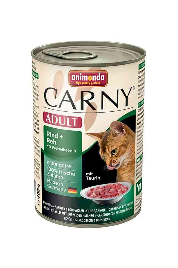 Animonda carny wołowina, sarnina, borówki 400 g