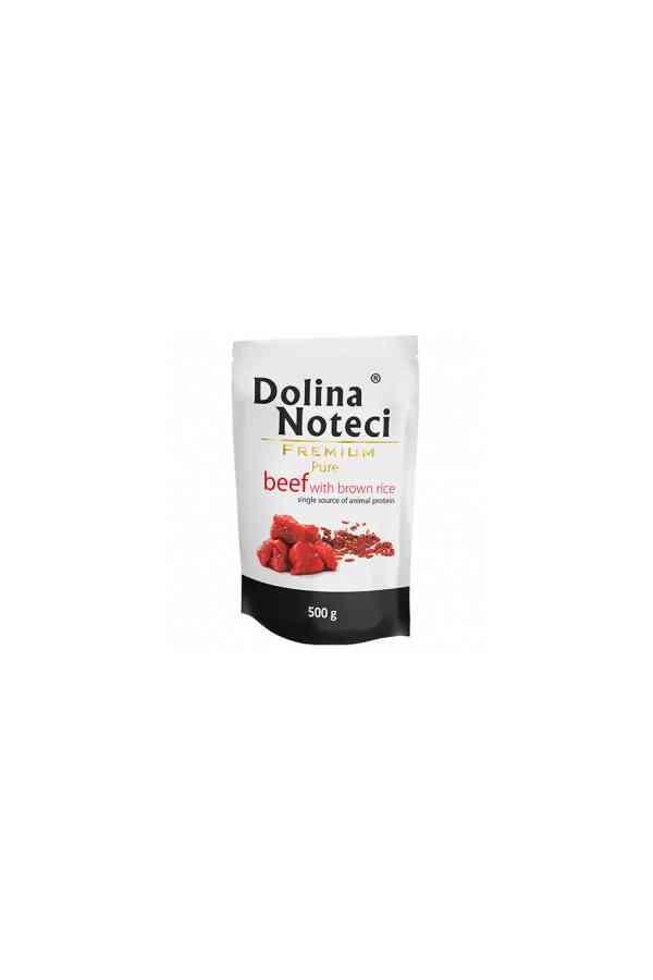 Dolina Noteci Premium Pure Wołowina z Ryżem 500 g