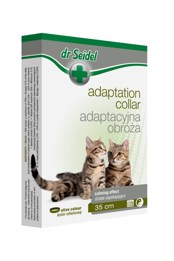 Dr Seidel Obroża Adaptacyjna dla Kotów 35 cm