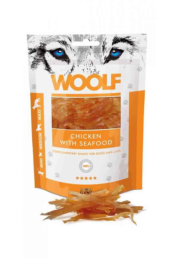 Woolf Chicken With Seafood Kurczak Owoce Morza 100 g