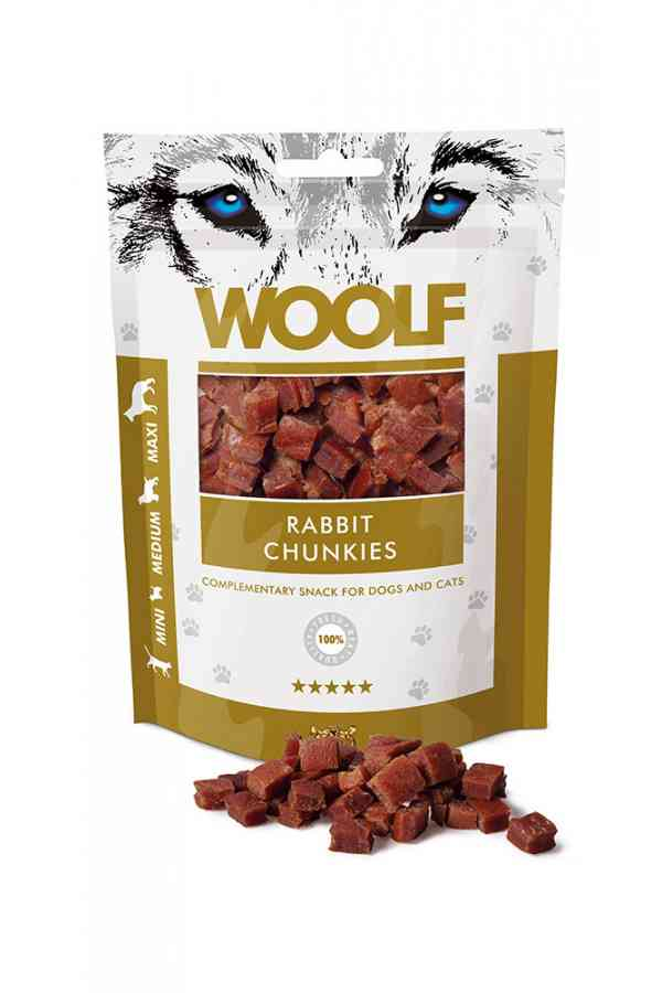 Woolf Rabbit Chunkies Królik 100 g