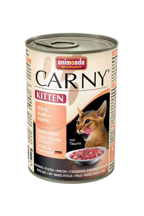 Animonda carny kitten wołowina, cielęcina, kurczak 400 g