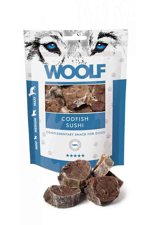 Brit Woolf Codfish Sushi Dorsz 100 g