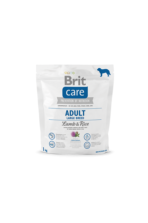 Brit Care Lamb & Rice Jagnięcina Adult Large Breed 1 kg