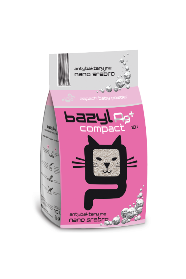 Bazyl Ag + Compact  Baby Powder 10 l
