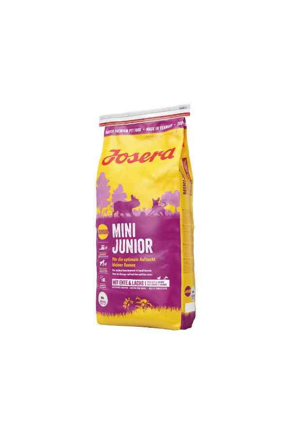 Josera Mini Junior Kaczka Łosoś Szczenięta Małe Rasy 15 kg