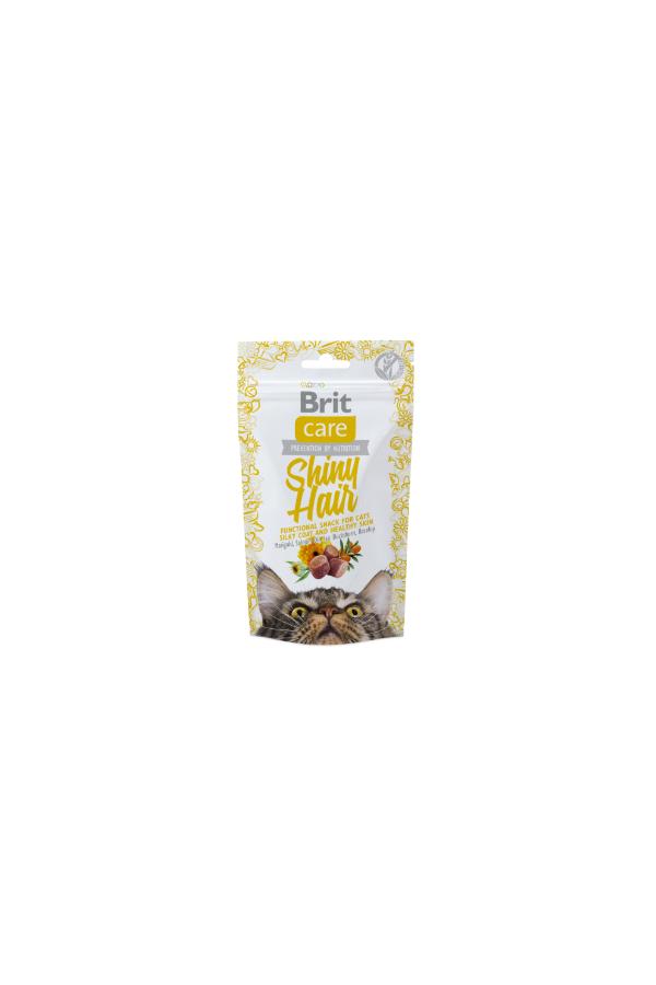 Brit Care Snack Shiny Hair Błyszcząca Sierść 50 g