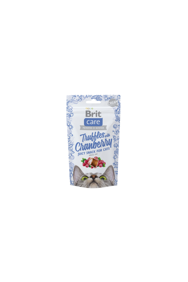 Brit Care Snack Truffles With Cranberry Żurawina 50 g