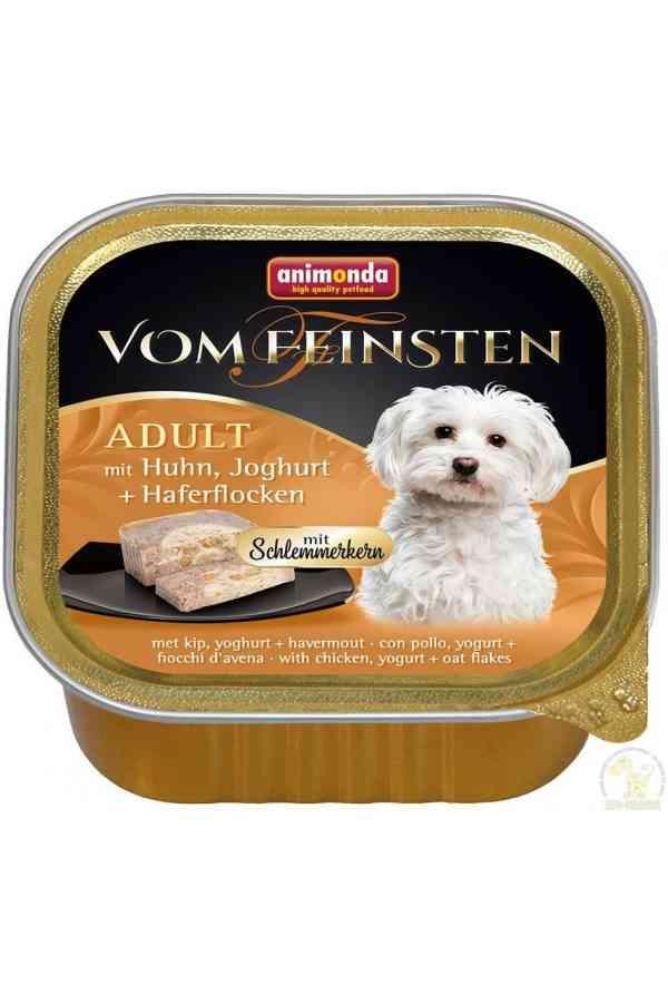 Animonda Vom Feinsten Kurczak, Jogurt, Płatki Owsiane 150 g
