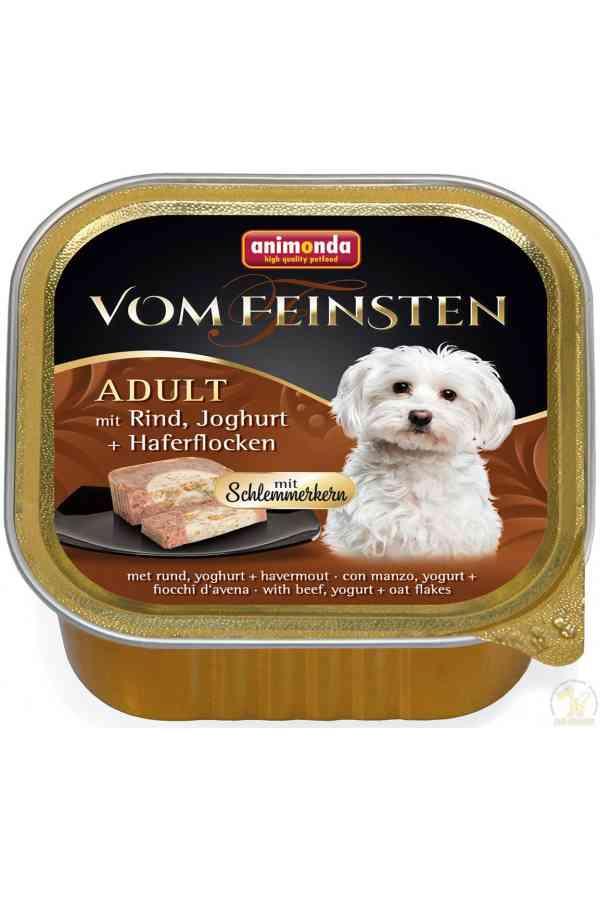 Animonda Vom Feinsten Wołowina, Jogurt, Płatki Owsiane 150 g