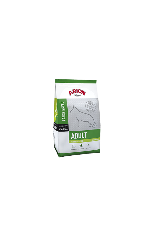 Arion Original  Chicken & Rice Large Adult 12 kg + 1 kg