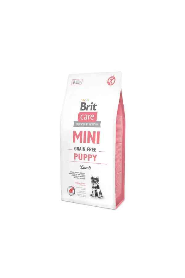 Brit Care Mini Grain-Free Bezzbożowa Puppy Lamb Jagnięcina 400 g