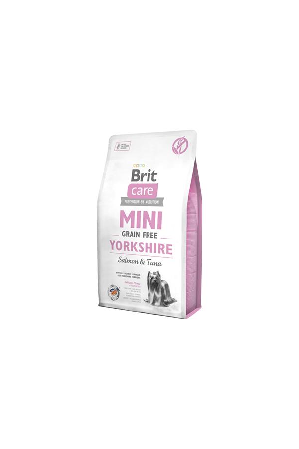 Brit Care Mini Grain-Free Bezzbożowa Yorkshire Łosoś Tuńczyk 2 kg