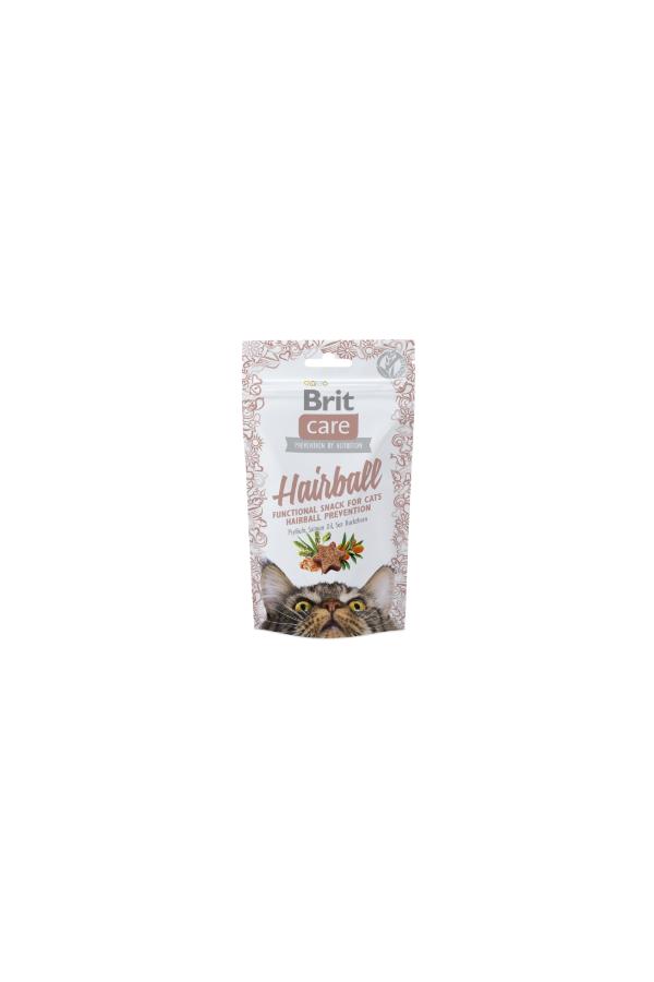Brit Care Hairball Snack Odkłaczanie 50 g