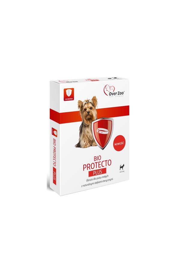 Over Zoo Bio Protecto Plus Obroża Mały Pies 35 cm