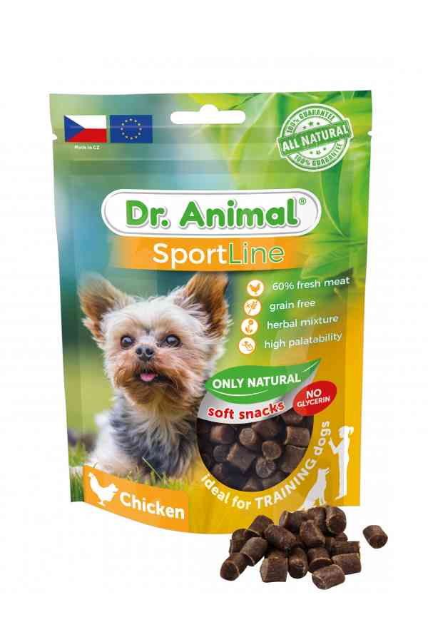 Brit dr.animal sportline chicken 100 g