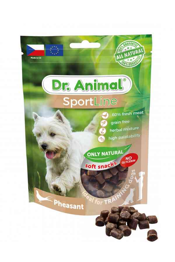 Brit dr.animal sportline pheasant 100 g