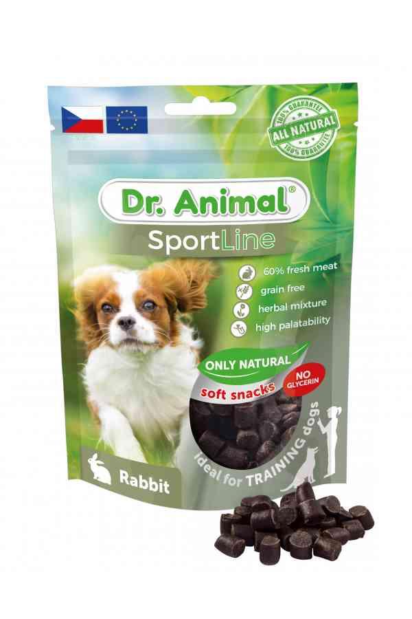 Brit Dr. Animal Sportline Rabbit Królik 100 g