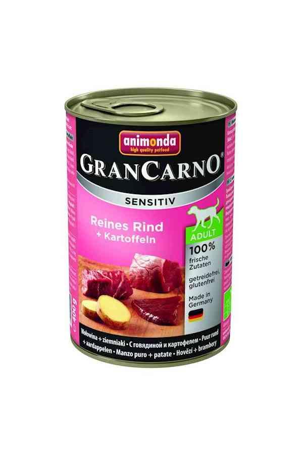 Animonda grancarno sensitiv adult wołowina z ziemniakami 400 g