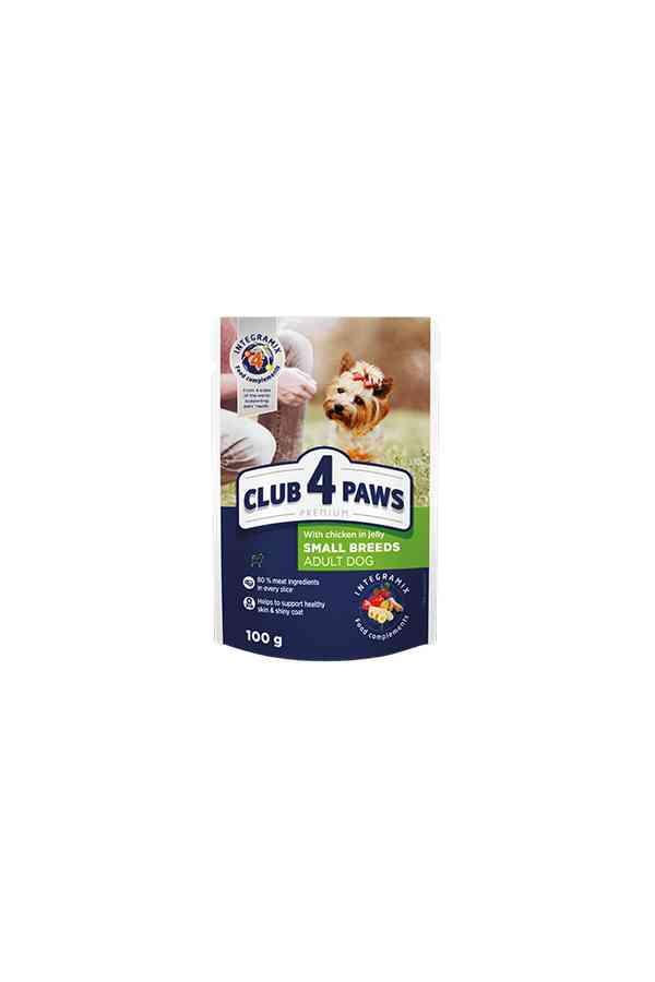Club 4 Paws z Kurczakiem w Galaretce 100 g